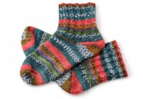 Socken stricken - Teil 1 - Bund und Schacft