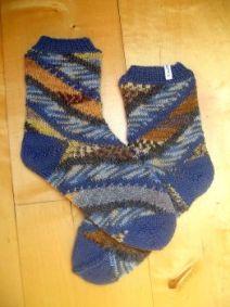Socken - Spiralnebel - Strickanleitung
