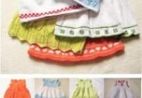 Kleidervariationen fürs Baby in 3 Größen
