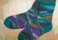 "Socken ""Lagune"""