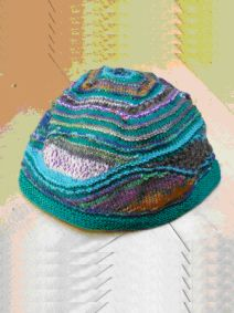 strickanleitung Mütze lagune