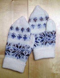 Handschuhe Schneeflocke_212