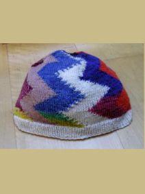 Mütze Zick-Zack-Muster