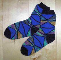 Socken Wandersmann